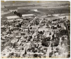 Aerial photograph of campus, c. 1930