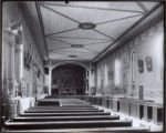 Side Walls of Mission Church Interior