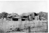 Abandoned Buildings of the Third Site of Mission Santa Clara, 1868