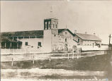 Mission Santa Clara and California Hotel, c. 1856