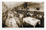 Students Dining in Dining Hall, 1902-3