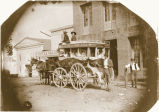 Santa Clara-San Jose Stagecoach, July 1858