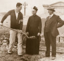 Groundbreaking for Nobili Hall, 1929