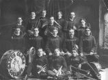 Santa Clara Student Band, About 1899, 2nd Year of Organization