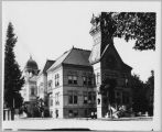 Second San Jose State Normal School building, circa 1900