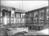 Room of the museum in the Science Building of Santa Clara College, circa 1900
