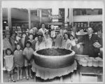In-store baking powder promotion, circa 1935