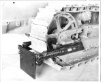 Caterpillar Tread machine by Rimple Manufacturing Company, circa 1940s