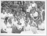 San Jose State Normal School informal class picture, circa 1916