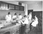San Jose State Normal School Chemistry Students, circa 1917