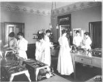 San Jose State Normal School Cooking Class, circa 1917