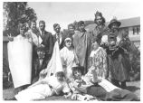 Student Group at Spardi Gras, circa 1920s