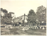 May Fete 1909 Entrance of the 3rd and 4th grade