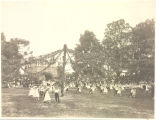 May Fete 1909 Entrance of The 5th and 6th Grade