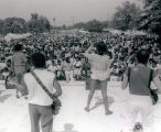 Band performance at san jose gay pride celebration, 1985