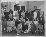 Group photo of the Caballeros de Dimas-Alang gathering, circa 1940