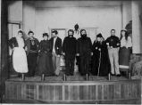 Agnews State Hospital theater production, early 1900s