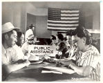Public assistance interviews, 1942