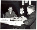 Federal Reserve Bank interview, 1942-1945