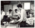 Newspaper office, 1942-1945