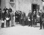 Memorial Mass for Akron Dirigible Victims at Mission Santa Clara, 1932