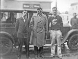 Babe Ruth visiting the University of Santa Clara, 1931