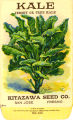 Kale, Jersey or Tree Kale, Kitazawa Seed Co.,  San Jose, Calif., circa 1918