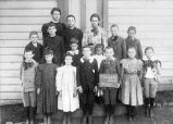 Montebello School,  October 19, 1898, photograph of group of students