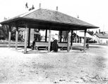 Railroad station at College Park, 1913