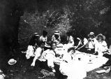 Field trip lunch, Pacific Conservatory of Music, College of the Pacific, 1913