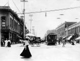 Downtown San Jose, circa 1908