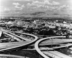 Unfinished Interchange of 87 and 280, circa 1990-2000