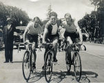 Just before the 80 mile Race over Kings Mountain, 1929