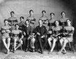 Cyclists with Trophy, circa 1905