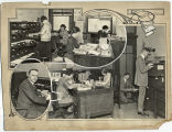 Photo Collage of Office Workers, 1924