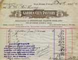 Receipt for jars and covers sold to W.H. Northway, 1918