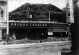 1906 Earthquake damage, Unique Theater
