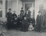 Agnew family at home, 1887