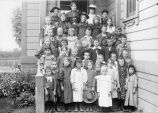 Pala School group portrait, circa 1890-1900