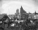 Market Street from City Hall, circa 1881-1906