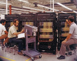 Circuit Panels and Three Men, circa 1960-1970