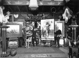 Interior of A. D. M. Cooper's Studio, circa 1890-1910