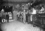 Inside the Palace Hotel Saloon, Cahill Street and The Alameda, San Jose, California, 1902