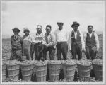 Proud Pea Pickers, circa 1930