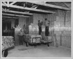 Empty Tins at Cannery Warehouse, circa 1946
