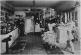 Rickett's Millinery Shop Interior, Gilroy, circa 1895