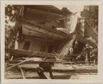Earthquake Destroyed House, 1906