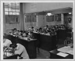 Industrial Arts watch-making laboratory, circa 1950