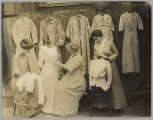 Sewing class, Household Arts Department, San Jose State Normal School, 1914