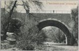 New Concrete Bridge, Los Gatos, Calif., 1907